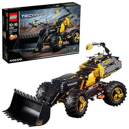LEGO UK 42081 Volvo Concept Wheel Loader ZEUX Technic - £87.99 @ Amazon