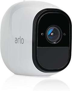 Arlo Pro Security Camera – Add-on Rechargeable Wire-Free HD Camera with Audio (Base Station not included) £131.99 @ Amazon Deal of the Day