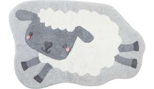 Counting Sheep Rug (was £12.00) Now £7.00 (Free C+C) @ George / ASDA