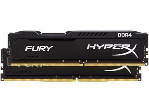 Kingston HyperX Fury Black 32GB (2x16GB) DDR4 PC4-19200 2400MHz Dual Channel Kit £71.15  Novatech