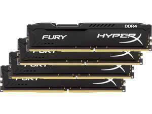 Kingston HyperX Fury Black 16GB (4x4GB) DDR4 PC4-21300 2666MHz Quad Channel Kit £34.63 Novatech