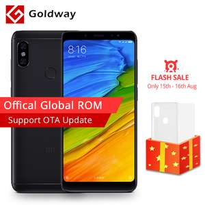 "Redmi Note 5 (Global ROM) / 5.99"" / 4GB RAM / 64GB ROM / FLASH SALE £134.05 at Ali Express / Hong Kong Goldway"