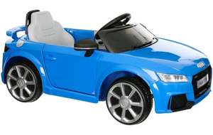 Audi TT RS 6V Electric Ride on Car For £67.50 using voucher for Click & Collect see op for voucher @ Halfords