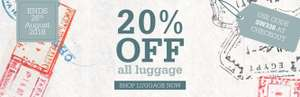 20% off Luggage with code @ Scotts of Stow