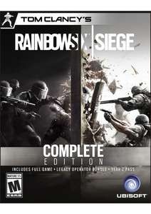 Rainbow Six Siege Complete Edition [uPlay/PC] WITH season 3 pass £44.99 / £42.74 with fb code @ CDkeys.com