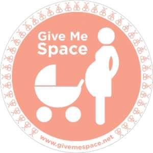 Free 'car sticker pack' to ask other drivers to 'give me space'!