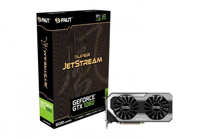 Palit GTX 1060 Super JetStream 6GB GDDR5 Graphics Card £229.97 @ Ebuyer
