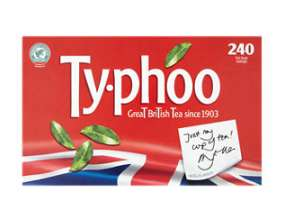 Typhoo Tea Bags 240 for £2.50 @ Asda