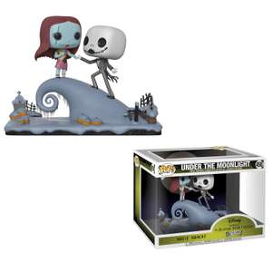 Nightmare Before Christmas Jack And Sally Pop! Movie Moment £24.99 + £2.99 p&p @ popinabox.co.uk