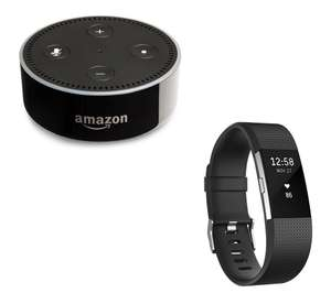 FITBIT Charge 2 & Echo Dot Bundle @ Currys from £98.41