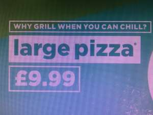 £9.99 Large Pizza at Papa Johns