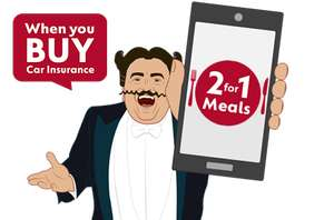 Use Go Compare to buy car, home, bike, van or pet insurance and get the Dine App free