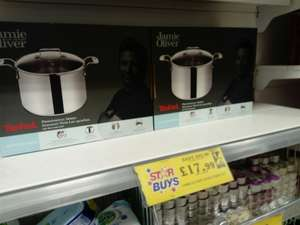 Jamie Oliver Stock Pot With Lid - £17.99 instore @ Home Bargains