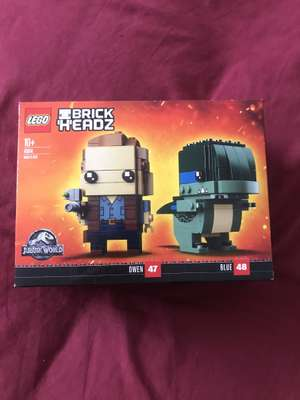 Lego 41614 Jurassic world brickheadz blue and Owen £7 @ Asda Arnold - Nottingham