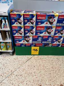 Vileda Turbo Smart £16 instore @ Morrisons