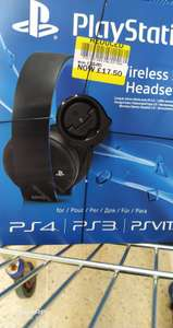 PlayStation Wireless Stereo Headset 2.0. Tesco in-store £17.50