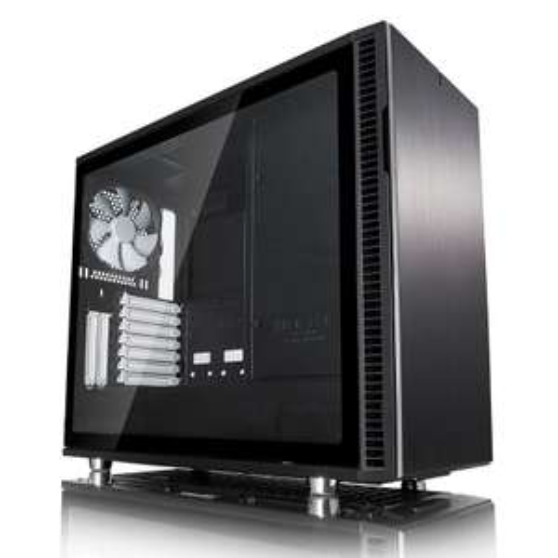 Fractal Design R6 Tempered Glass PC Tower (Black) - £109.98 @ Ebuyer