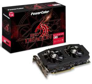 POWERCOLOR RADEON RX 580 RED DRAGON V2 8192MB GDDR5 PCI-EXPRESS GRAPHICS CARD + ASSASSINS CREED ODYSSEY + STRANGE BRIGADE + STAR CONTROL - £239.99 @ Overclockers further reduced to 224.99 by 6%