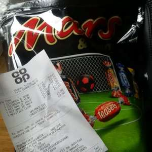 Mars and and friends Celebrations Pouch instore at Co-Op for £2.25