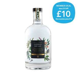 Co-op Irresistible Premium Gin 70cl £10 - member offer / £8.40 NUS members