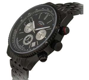 Rotary Men's Black Chronograph Bracelet Watch - £57.99 @ Argos (free C&C)