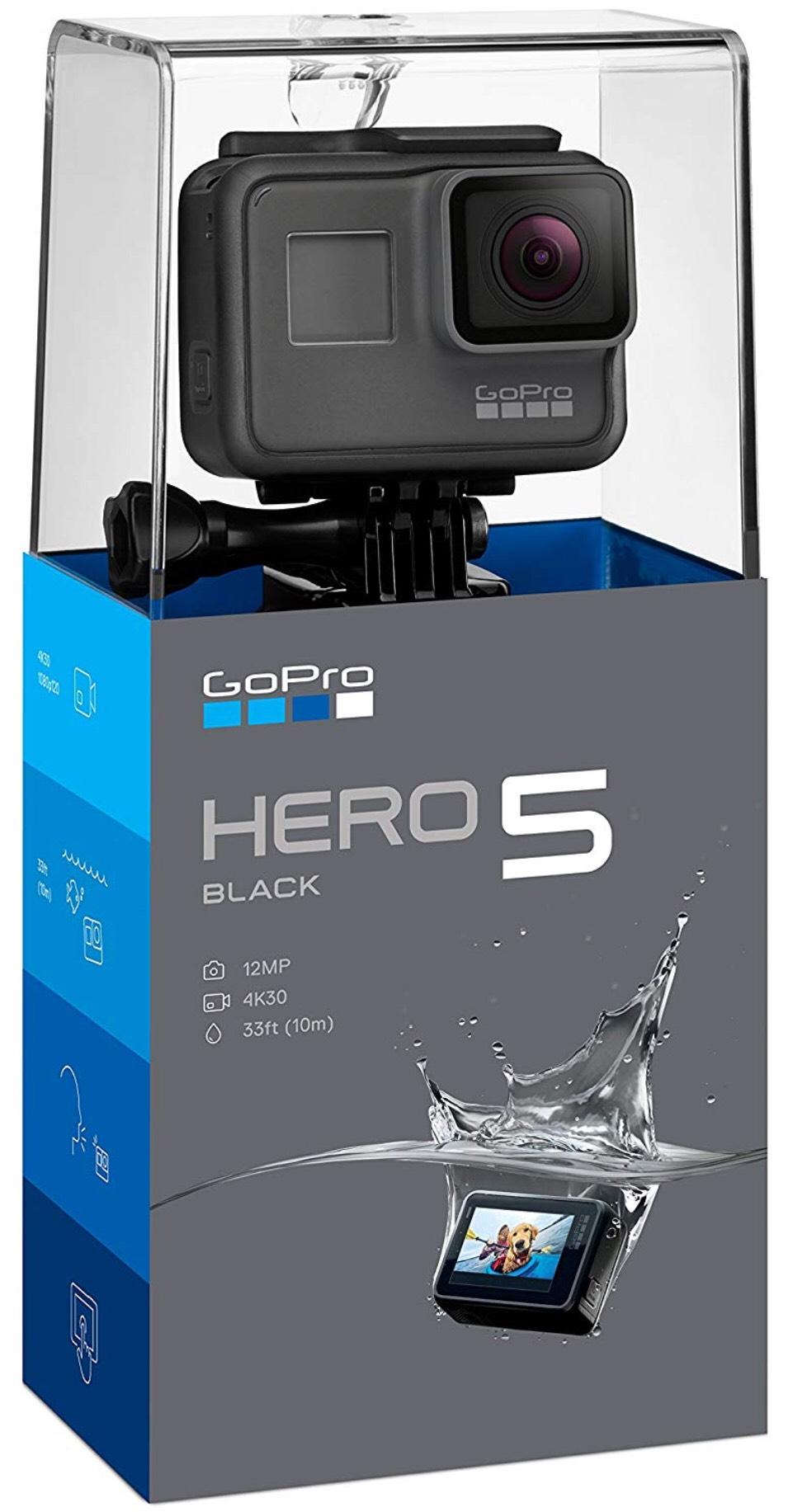 GoPro Hero 5 Black Action Camera - £269.99 Delivered @ Amazon