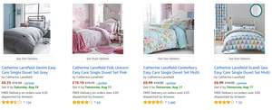 up to 30% off Catherine lansfield bedding sets @ amazon
