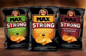 Walkers MAX Strong (All Flavours) £1 at Tesco and Sainsbury's