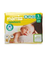 Aldi mamia newborn size 1 nappies  24pack 85p