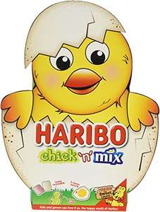 Haribo Chick n Mix Fruit Flavour Gums, 200 g, Pack of 6 @ Amazon (Add-on Item) £4.44