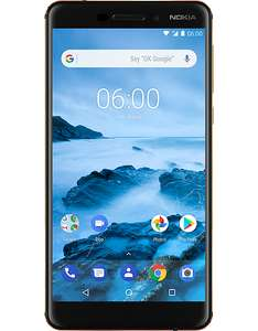 Nokia 6.1 reduced £179+ £10 top up @ CPW £189