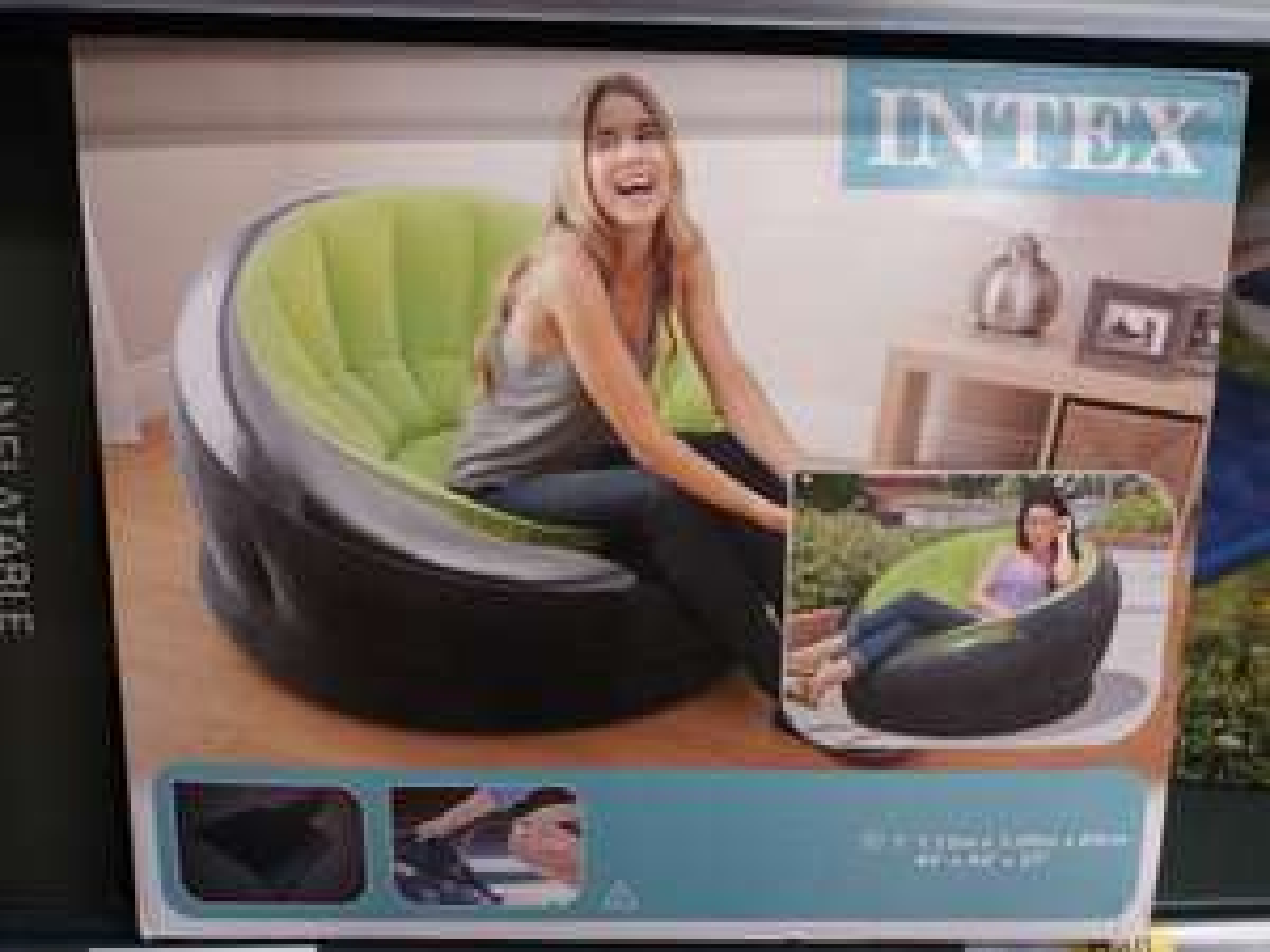 Intex inflatable Empire Chair £16.50 @ Tesco Huntingdon (Indoor/Outdoor)