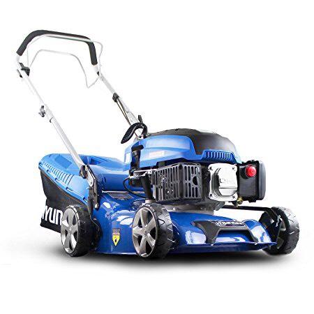 Hyundai HYM430SP Petrol Lawn Mower Self Propelled 139 Cc 42cm - £149.99 @ Amazon