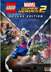 Lego Marvel Super Heroes 2 Deluxe Edition PC. 6.99/6.64 with FB code @ CD KEYS