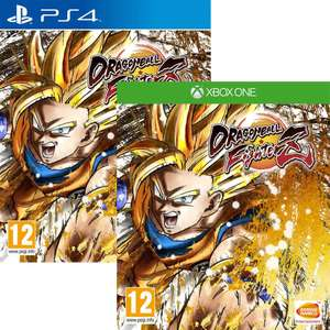 Dragon Ball FighterZ PS4 / Xbox One only £18.69 using code @ Argos eBay (Free C&C)