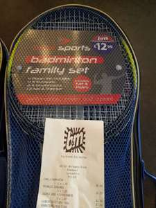 Max sports badminton family set - £1 instore @ B&M
