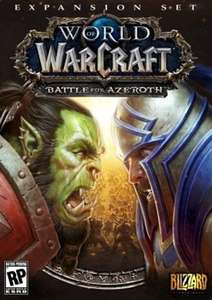 World of Warcraft (WoW) Battle for Azeroth (EU)£30.99 / £29.44 with FB code @ cdkey