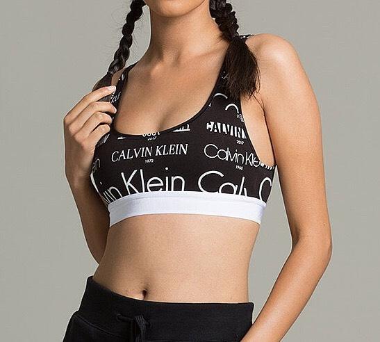 Calvin Klein Womens Heritage Logo Bralette RRP £36.99 - £14.99 @ Footsaylum - Free c&c