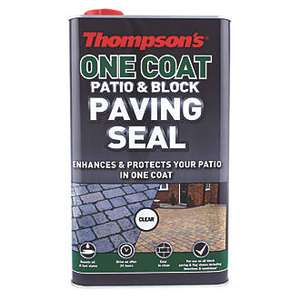 Thompsons Patio & Block Paving Seal 5L - clear £20 @ Wickes