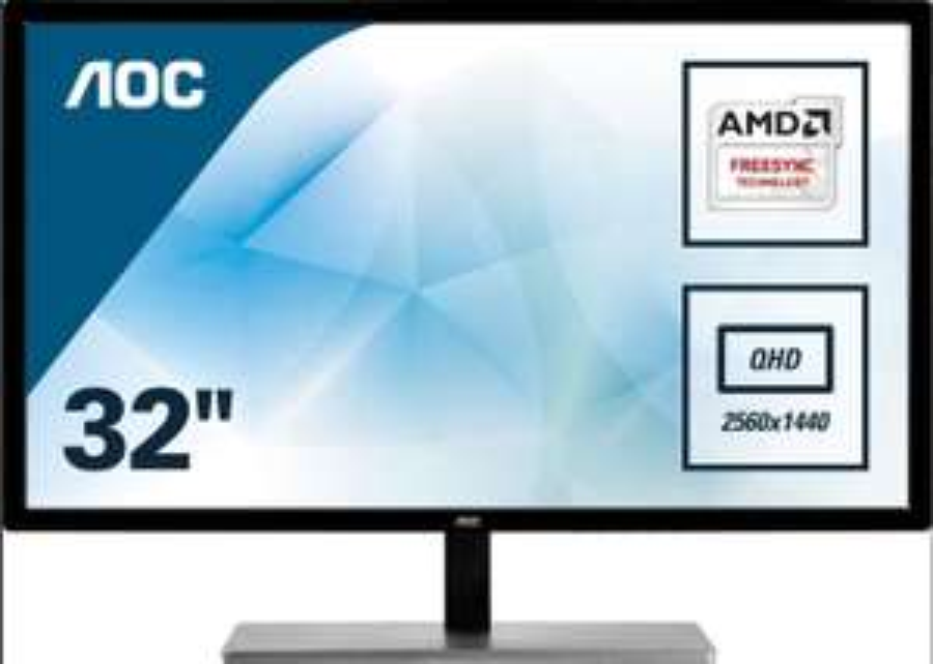 AOC Q3279VWF 31.5 inch QHD LED Monitor - 2560 x 1440, 5ms, FreeSync, £169.99 @CCL/eBay