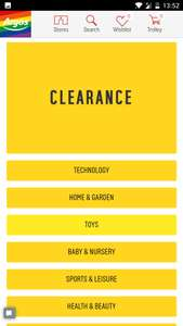 HUGE CLEARANCE AT ARGOS!
