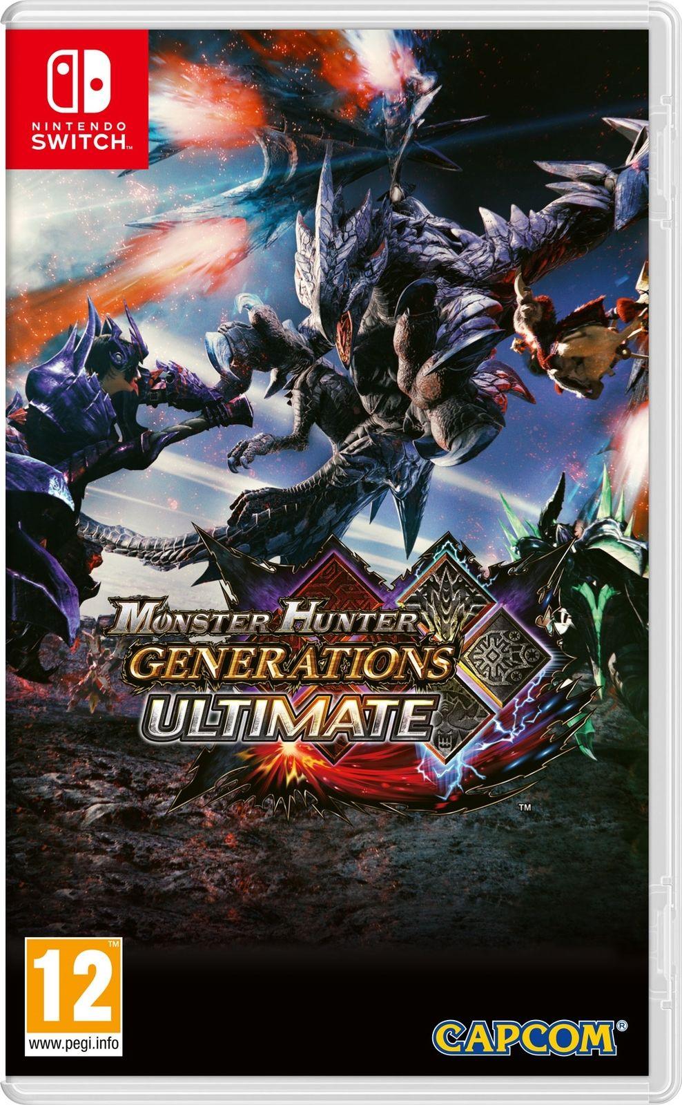 PREORDER Monster Hunter Generations Ultimate for Nintendo Switch £33.87 using code PIGGYBANK on ebay / ShopTo