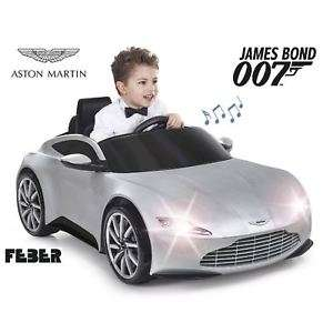 Kids Aston Martin App Controlled Remote Control Ride On Toy Car - £84.92 @ Sports Direct / eBay