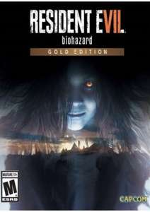 Resident Evil 7 - Biohazard Gold Edition PC ( £10.44 with cdkeys fbook 5% code )