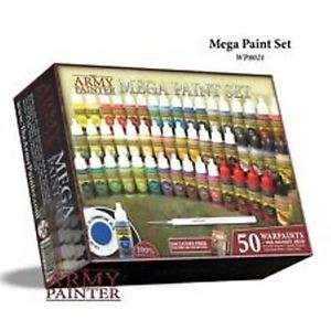 Army Painter Mega Acrylic Paint Set - Works out at £1.26 per Bottle! With code PIGGYBANK darrenedwards1966 / Ebay