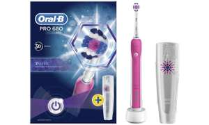 Oral-B Power Handle Pro 680 Electric Toothbrush with Travel Case £19.99 (Plus extra cashback With Quidco) and Free Delivery offer