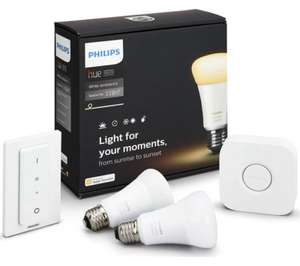 PHILIPS Hue White Ambiance Starter Kit £84.97 Delivered using code @ Currys / eBay