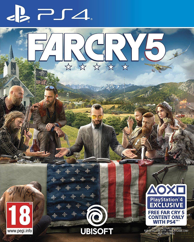 Far Cry 5 (PS4) ex-rental PS4 £19.54 @ boomerang ebay