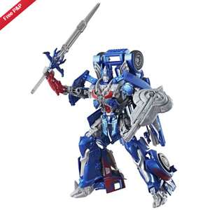 Transformers Optimus prime the last knight: premier edition £11.99 @ Argos Ebay