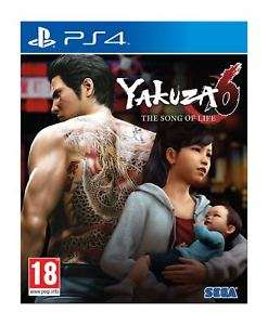 Yakuza 6 The Song of Life Launch Edition (PS4) NEW & SEALED Fast Dispatch £23.67 @ simplygames_com / Ebay